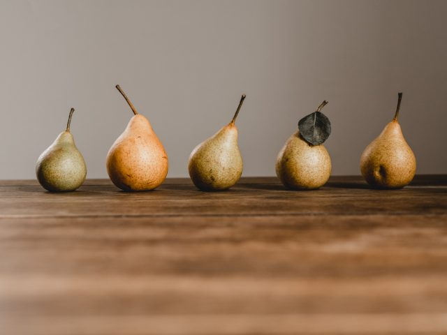 Get your pears in a row
