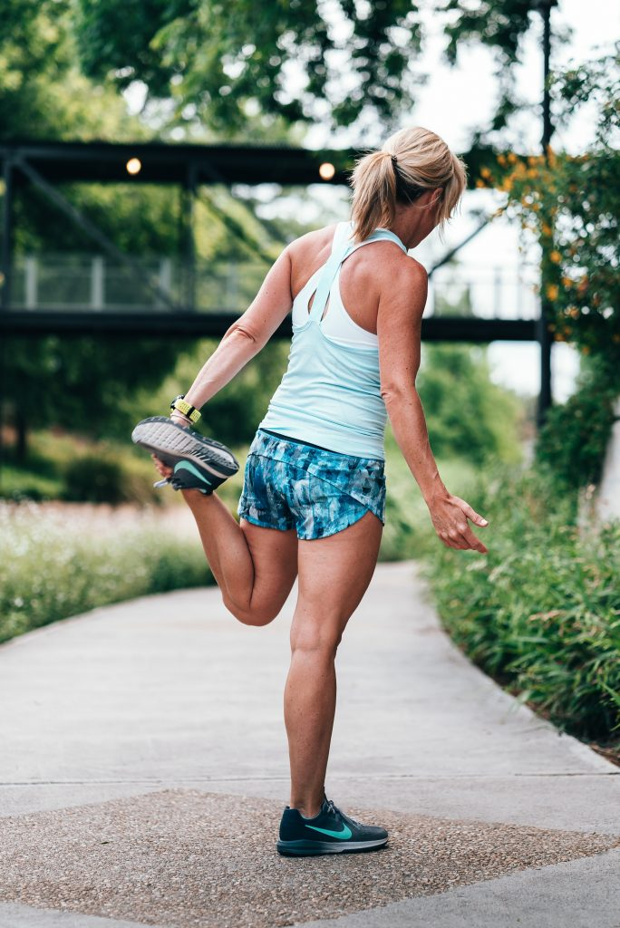 Exercise is one of nature's most effective stress-reducer.